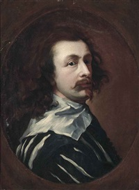 portrait of the artist by sir anthony van dyck