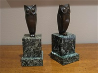 owl (+ owl; 2 works) by george h laurent