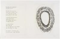 seven poems by stéphane mallarmé (portfolio of 7) by christopher wilmarth
