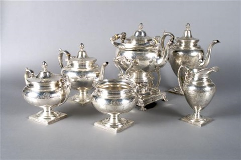 tea and coffee service by bailey banks and biddle