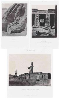 égypte, nubie, palestine, syrie (28 works) by maxime du camp