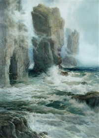 the stacks rocks, like giants standing by arthur reginald smith
