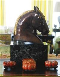 head of suffolk punch by herbert haseltine