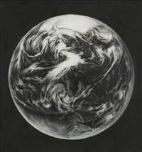 untitled (earth 3, small) by robert longo