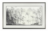 a chinese river landscape by xiao shunzhi