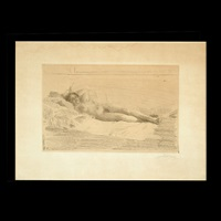 reclining nude by anders zorn