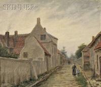 street in sluis, holland by lee lufkin kaula