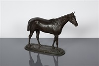 equine figure of the racehorse