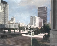 plaza de picasso, azca. madrid by joaquín millán