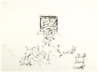 untitled (study no. 19) by cecily brown
