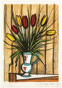 les tulipes by bernard buffet