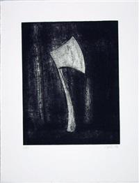 jean genet - der balkon (portfolio of 12) by rainer wölzl