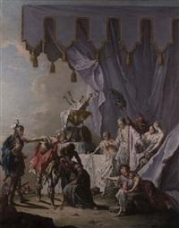 la clemenza di scipione (die milde des scipio) by francesco zugno the younger