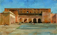 unfinished palace, marrakesh by maurice grosser