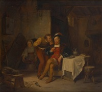 la visite du gentilhomme by hendrick joseph dillens