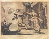 dal primum preceptum decalogi al decimum (10 works) by giovanni volpato