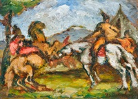 lovasok by sandór basilides