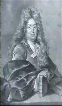 portrat charles perrault by l. lafontaine