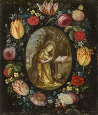 blumenkranz büßende maria magdalena by jan brueghel the younger