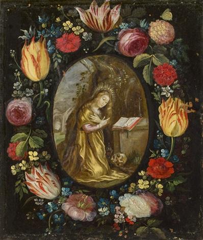 blumenkranz büßende maria magdalena by jan brueghel the younger