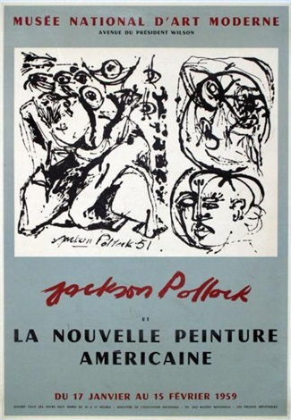 jackson pollock la nouvelle peinture américaine by jackson pollock