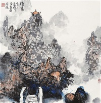 landscape by lei zhengmin