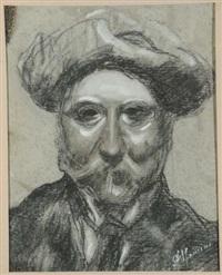 ritratto maschile by antonio mancini