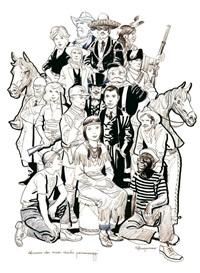 alcuni dei miei vecchi personaggi by sergio tarquinio