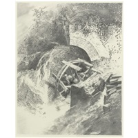 repairing the wheel by mark tansey