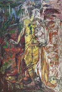 penari (dancer) by mochtar apin