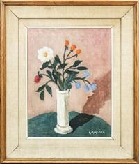 vaso con fiori - flowers in a vase by guido peyron