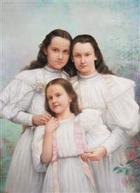 three girls by john elwood bundy