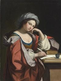 a sybil by angelika kauffmann