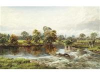 bransford bridge, worcester by william henry mander