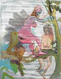 astgabelmädchen by siegfried anzinger