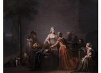 die obstverkäuferin by pierre nicolas legrand de lérant