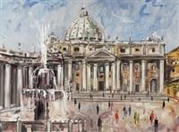 rom petersplatz by hans olde