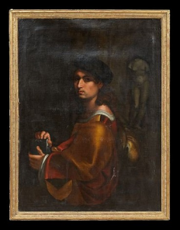 portrait of an artist by pontormo jacopo carucci