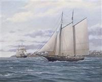 the whaling schooner
