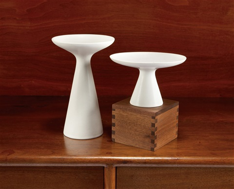 pair of vases by malcolm leland