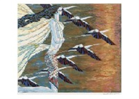 Crane and Sunlight, Blue diamond, Silk road, Friendship