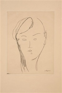 untitled (5 works) by amedeo modigliani