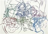 the drunken chauffer (set of 8) by david salle