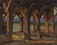 sunday evening, north vancouver by james (jock) williamson galloway macdonald