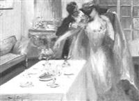 le diner by joseph-marius avy