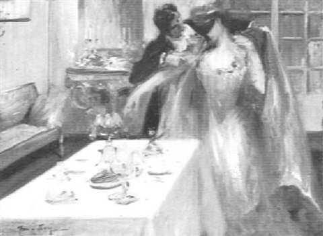 le diner by joseph marius avy