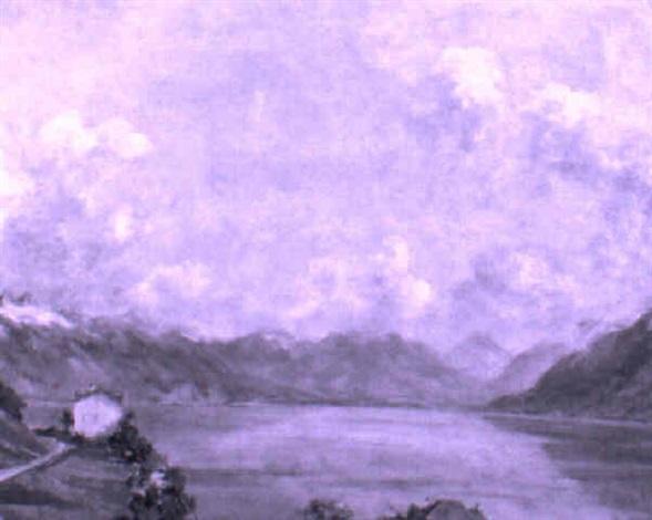 lac léman contre valais by hans arnold daepp