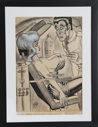 oh doctor! do you think both will have to come out? by bill ward