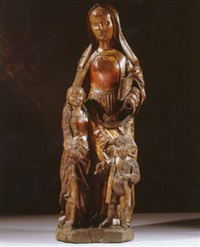 st. anne with the virgin and child by french school-northern (15)