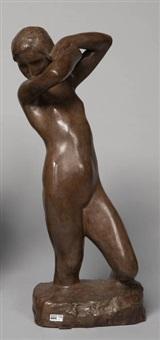 jeune femme nue by george minne